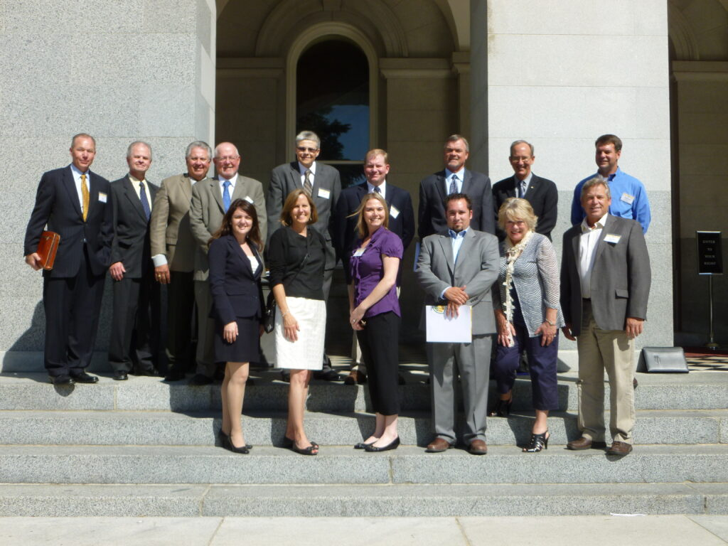 Ag Council Members pictured at the California State Capitol