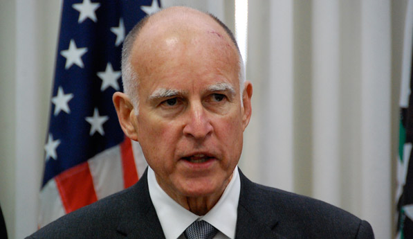 Photo of Governor Brown by Richie Duchon