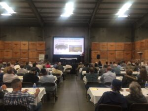 Over 100 guests attended Ag Council¹s Groundwater Forum held at Campos Brothers Farms in Caruthers.