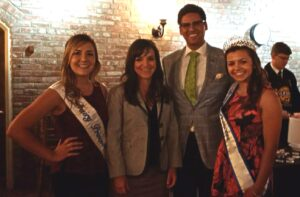 Assemblyman Henry Perea (pictured 3rd from left) at Dairyfest with (from left to right) alternate Dairy Princess Emma Borba, Ag Council President Emily Rooney, and Dairy Princess Spencer Borba. Dairy Princesses Emma and Spencer Borba from Escalon helped greet guests at Ag Council's second annual Dairyfest.