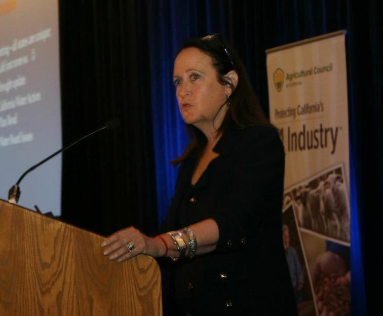 Felicia Marcus speaks at Ag Council's Annual Meeting in March 2015.